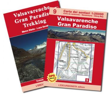 Valsavarenche, Gran Paradiso - Mapa