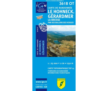 IGN 3618OT Le Hohneck. Gerardmer