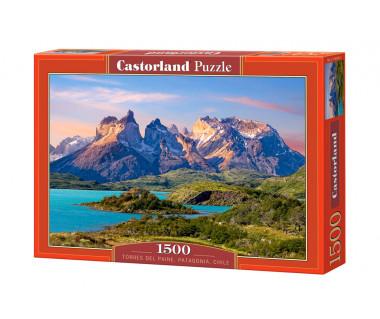 Puzzle 1500 Torres del Paine, Patagonia, Chile