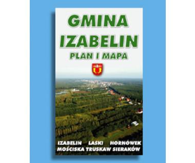 Gmina Izabelin - Mapa