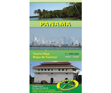 Panama - Mapa