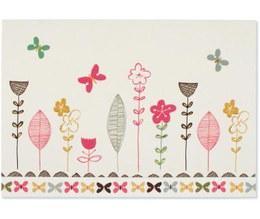Kartka mini Whimsical Blooms