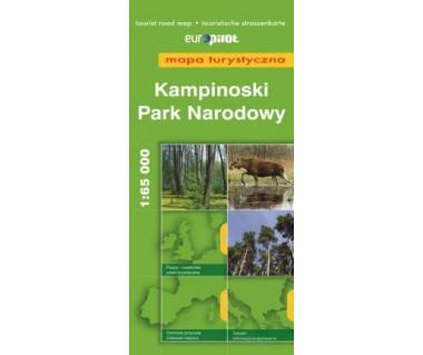Kampinoski Park Narodowy - Mapa