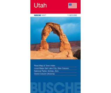 Utah - Mapa