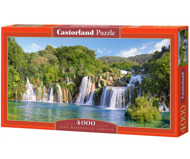 Puzzle 4000 Krka Waterfalls, Croatia