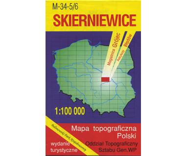 T100 Skierniewice - Mapa