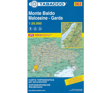 Monte Baldo, Malcesine - Garda - Mapa