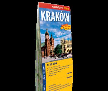 Kraków plan laminowany
