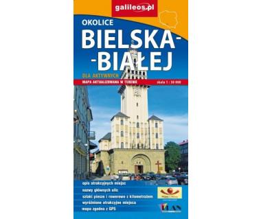 Okolice Bielska-Białej dla aktywnych - Mapa turystyczna