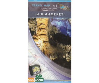 Georgia travel map (5) Guria-Imereti