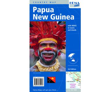 Papua New Guinea - Mapa