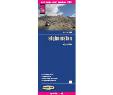 Afghanistan - Mapa wodoodporna