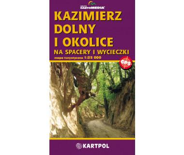 Kazimierz Dolny i okolice - Mapa