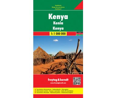 Kenya - Mapa