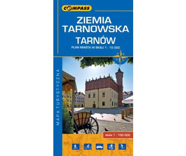 Ziemia Tarnowska, Tarnów - Mapa