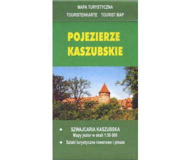 Pojezierze Kaszubskie - Mapa