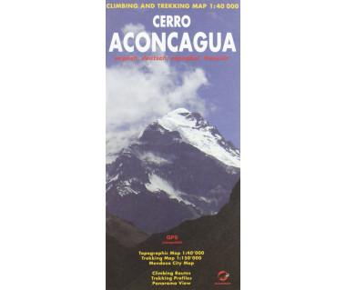 Cerro Aconcagua - Mapa