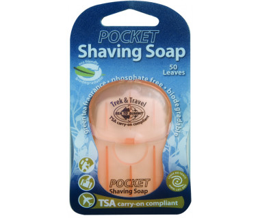 Mydło kieszonkowe do golenia Pocket Shaving Soap 50 listków