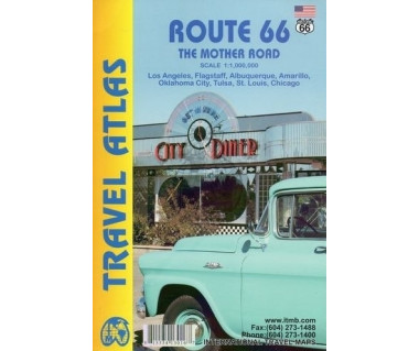 Route 66. The Mother Road Travel Atlas