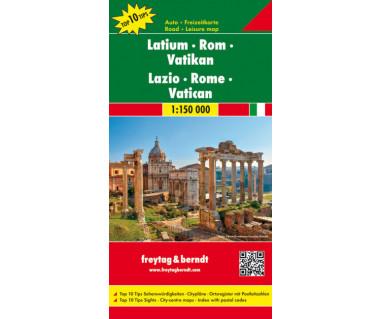 Lazio, Rome, Vatican - Mapa