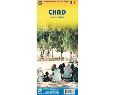 Chad - Mapa