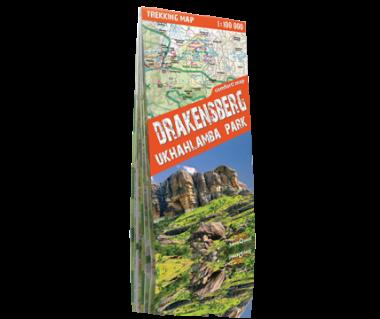 Drakensberg Ukhahlamba Park - Mapa turystyczna laminowana