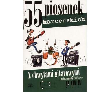 Śpiewnik-55 piosenek harcerskich z chwytami gitarowymi