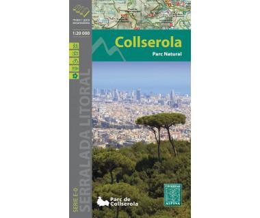 Collserola (Serra de) - Mapa