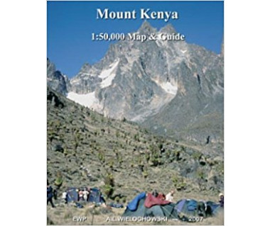 Mt Kenya Map and Guide