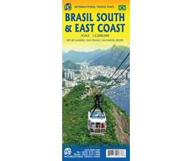 Brasil south & east coast