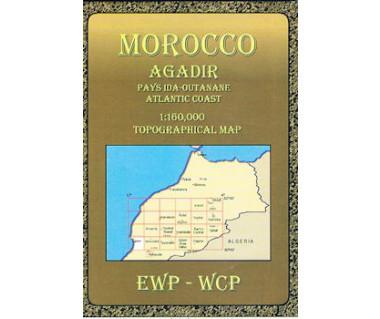 Morocco Agadir - Mapa