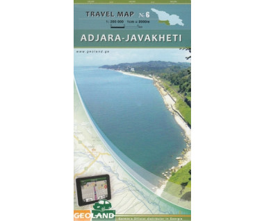 Georgia travel map (6) Adjara-Javakheti
