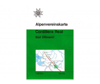 Cordillera Real Sud (Illimani),(0/9) - Mapa turystyczna