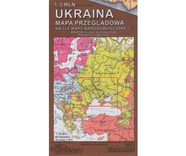 Ukraina mapa przeglądowa