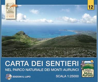 Monti Aurunci - Mapa