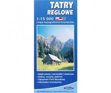 Tatry reglowe - Mapa