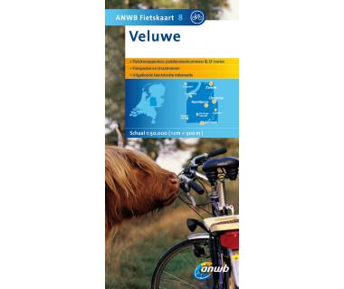 NL50 08 Veluwe - Mapa rowerowa