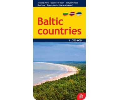 Baltic countries - Mapa