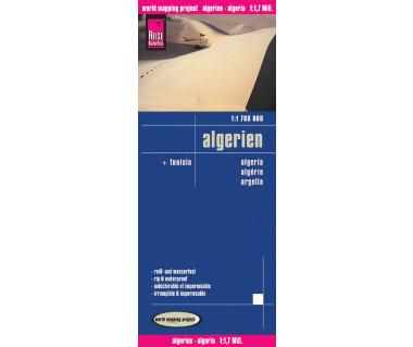 Algerien - Mapa wodoodporna