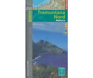 Mallorca -Tramuntana Norte GR11 map&hiking guide