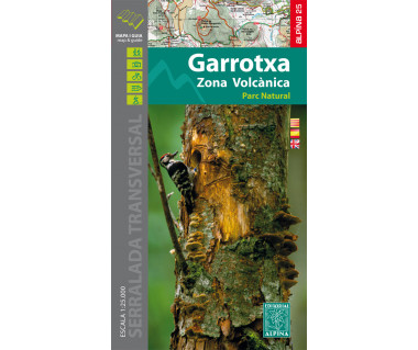 Garrotxa - PN de la Zona Volcanica map & hiking guide
