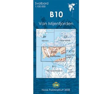 Svalbard B10 Van Mijenfjorden