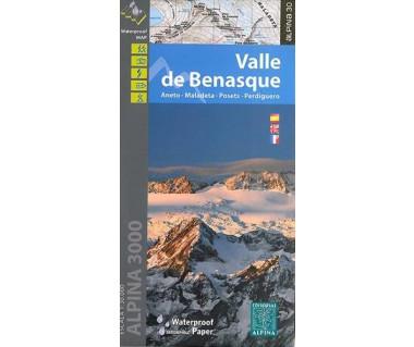 Valle de Benasque map&hiking guide wp - Mapa