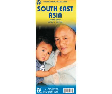 South East Asia - Mapa