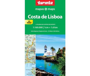 Costa de Lisboa - Mapa