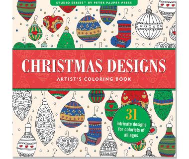 Kolorowanka Christmas Designs