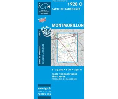 Montmorillon - Mapa