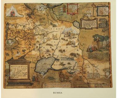 Reprodukcja mapy: Russia