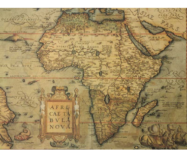 Reprodukcja mapy: Africa