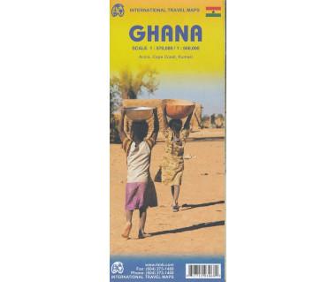 Ghana - Mapa